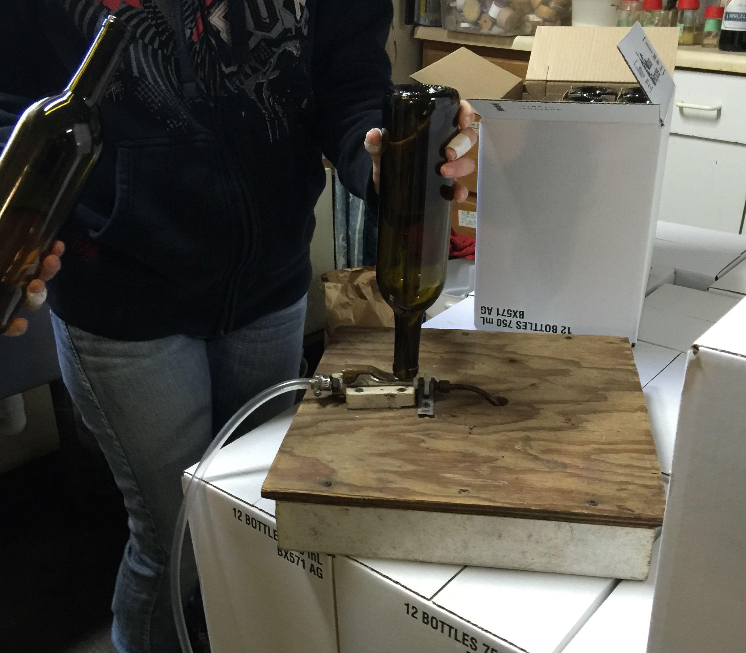 Bottling Line - Step 1 - Sparger