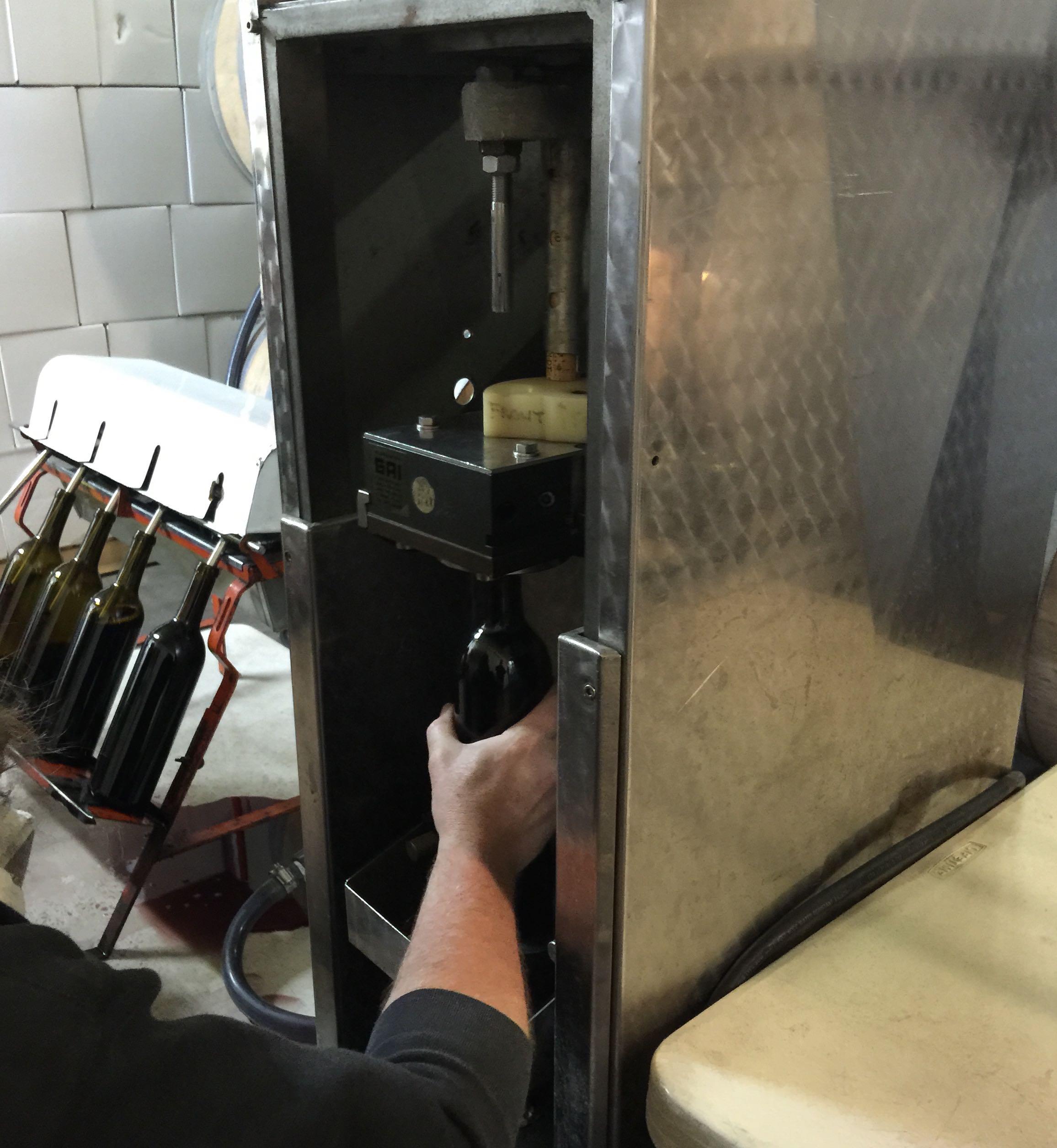 Bottling Line - Step 3 - Corker